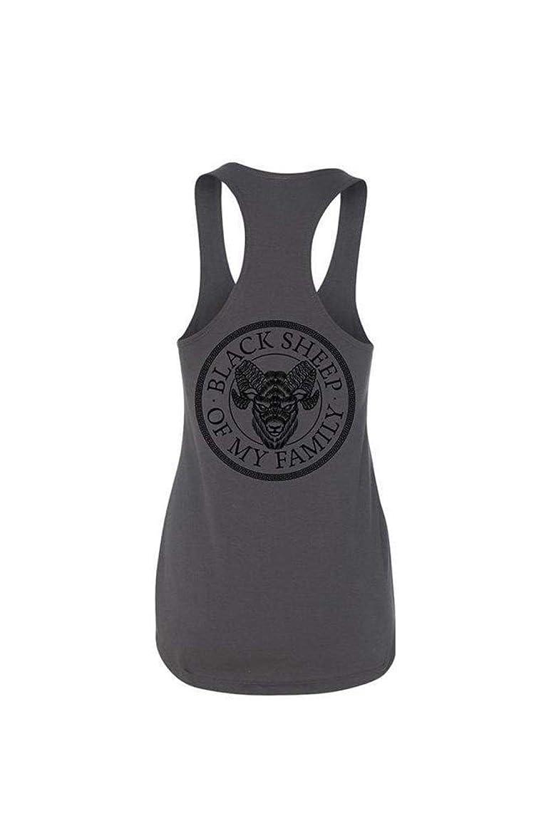Ink Addict Women's Tank - Black Sheep Graphic Tank Top for Women