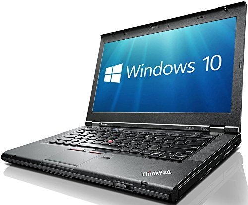 Lenovo ThinkPad T430 14in HD+ (1600x900) 3rd Gen i7-3520M, WiFi, WebCam, DVDRW, USB 3.0, Windows 10 Professional 64-bit (Renewed)