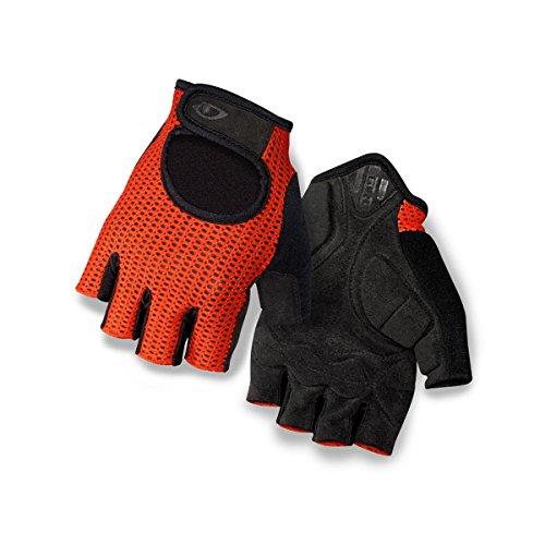 Giro Unisex– Erwachsene SIV Fahrradhandschuhe, Glowing red/Black, XS