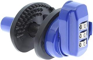 comprar comparacion YATEK Candado para Armas con Cierre a combinación de 3 digitos, Fabricado en Acero y Agarre de Goma Resistente para impedi...
