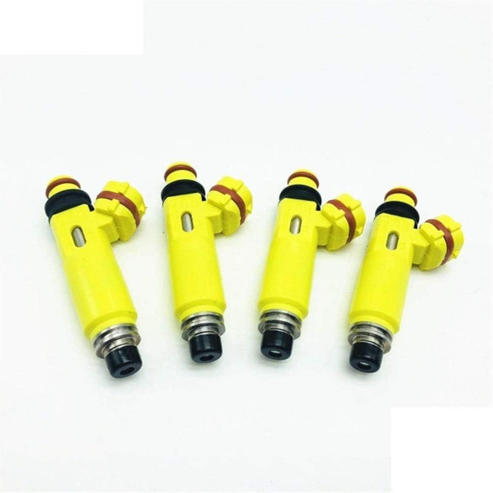 JinQiu 4PCS OEM:195500-4450 1955004450 Memphis Mall Fuel Perfor High Injector Max 86% OFF