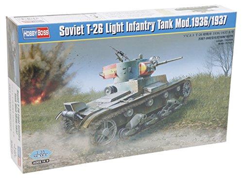 Hobbyboss 1:35 - Soviet T-26 Light Infantry Tank Mod. 1936/1937
