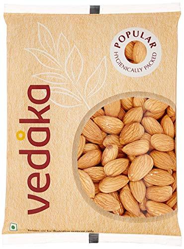 Vedaka Popular Whole Almonds, 200g & Vedaka Popular Cashews - Broken, 200g 4