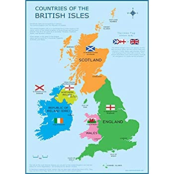 uk map for kids Wisdom Learning Great Britain Map Uk British Isles Childrens