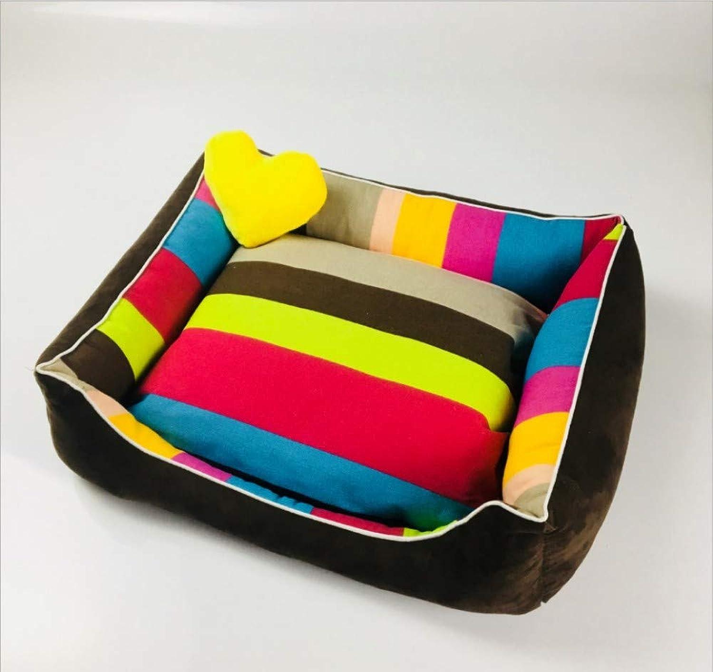 GZDXHN Dog House Cotton Nest Removable Dog Kennel Dog Pad Cat Litter Pet Nest Pet Supplies
