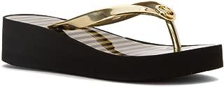Women's Bedford Flip Flop Shiny Sandals