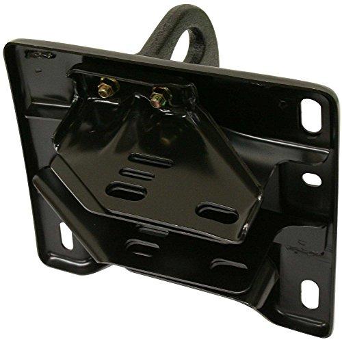Evan-Fischer Bumper Bracket compatible with Dodge Ram Full Size P/U 03-16 Front w/Tow Hook Steel Left Side