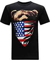 tees geek California Republic Men's T-Shirt