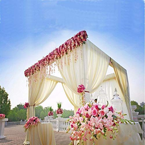 Tableclothsfactory 4 Post Height Adjustable Canopy Chuppah Mandap Wedding Photo - Hardware Kit Only