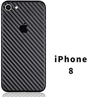 iPhone X Skin Wrap,Tectom Carbon Fiber Sticker Decal for iPhone Xs MAX Ultra Thin 7 8plus Cover (iPhone 7)