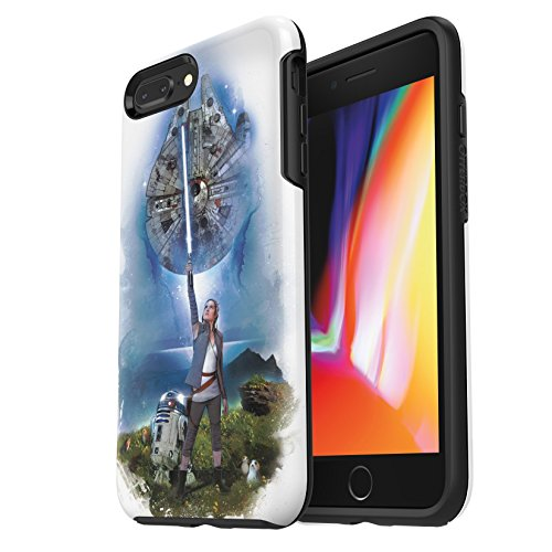 of price on iphone 7 plus dec 2021 theres one clear winner OtterBox SYMMETRY SERIES STAR WARS Case for iPhone 8 PLUS & iPhone 7 PLUS (ONLY) ON AHCH-TO