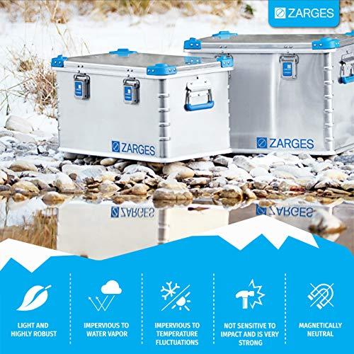 Relags Zarges Eurobox-157 L Box, Silber, 157 Liter - 4