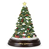 Best Choice Products Pre-Lit Tabletop Rotating Musical Christmas Tree Holiday Decoration w/ 9 Songs, Green