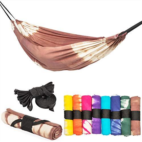 slomock Hängematte & Strandtuch für 2 Personen, 2 in 1, zu 100% aus Baumwolle in 8...