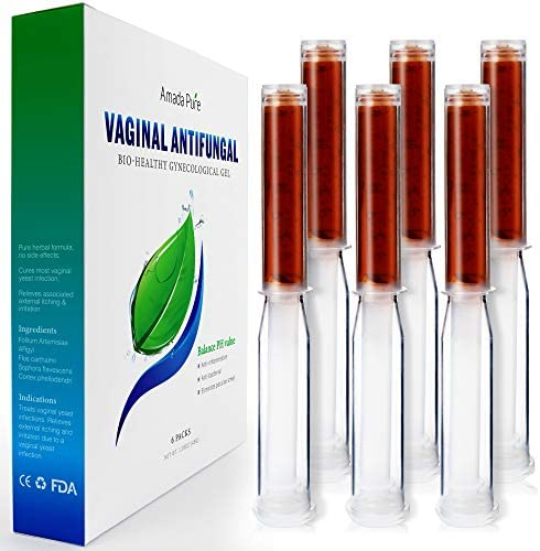 Amada Pure Yeast Infection Treatment Gel Itch Relief Gel PH Balance for Women Promote Vaginal product image