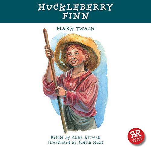 Huckleberry Finn audiobook cover art