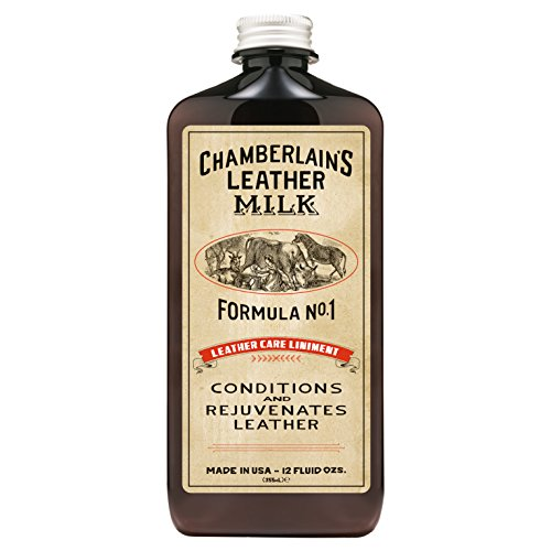 Leather Milk Conditioner and Cleaner for Furniture, Cars, Purses and Handbags. All-Natural,...