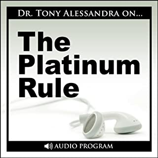 The Platinum Rule audiobook cover art