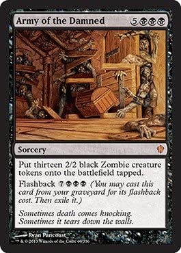 Magic latest The Gathering - Army of NEW before selling 69 20 Damned Commander 356