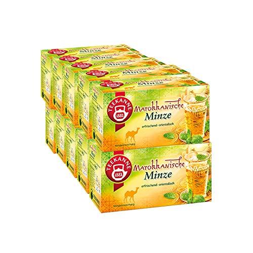 Teekanne Marokkanische Minze 20 Teebeutel - 10 Packungen