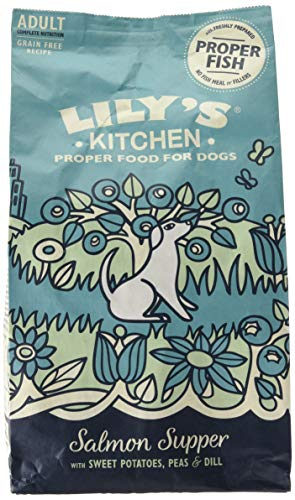 Lily's Kitchen Salmon Supper Natural Grain Free Complete Adult Dry Dog Food (2.5kg)