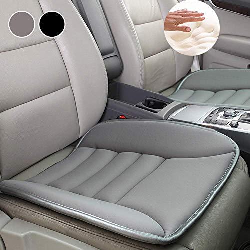 Big Ant Sitzkissen Auto, Memory Foam Sitzkissen Sitzauflage Auto Orthopädisches Autositzkissen Komfort Kissen Bürostuhl Sitzkissen Pssst für Autositz, Bürostuhl und Alle Stühle (Grau-1 Stück)