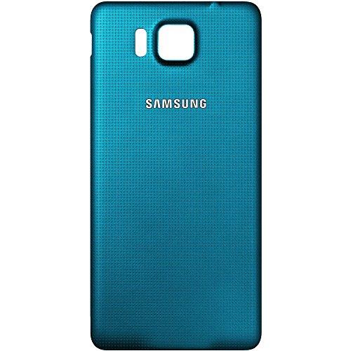 Batería Original Samsung Tapa Blue/azul para Samsung G850F Galaxy Alpha (Tapa para batería, Tapa trasera,, Back Cover)–GH98–33688C