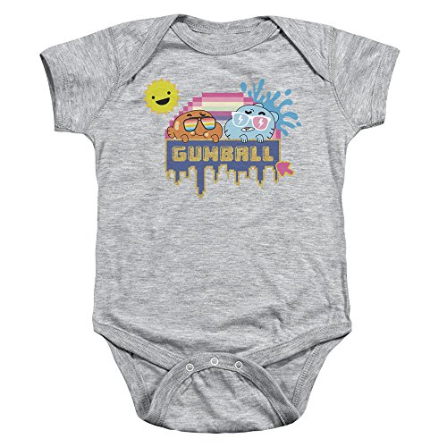 Amazing World Of Gumball - - Onesie Sunshine pour Tout-Petits, 6 Months, Athletic Heather