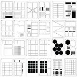 Speedy Spreads Journal Stencils (All Layouts Bundle) - x24...