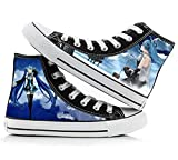 Telacos Vocaloid Hatsune Miku Cosplay Shoes Costume Canvas Shoes Sneakers