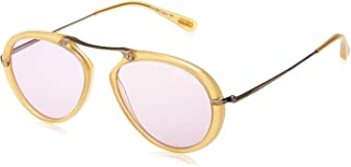Tom Ford Unisex Sunglasses Aviator Aaron Yellow/Purple