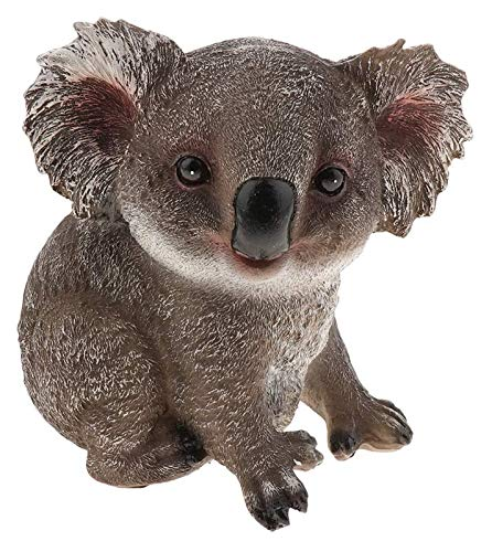 DWhui Escultura de la Estatua para la decoración del hogar Ornamento SitionPositionItion Koala Figura Animal Figura de jardín decoración de Adornos Adornos para niños Juguetes Regalos