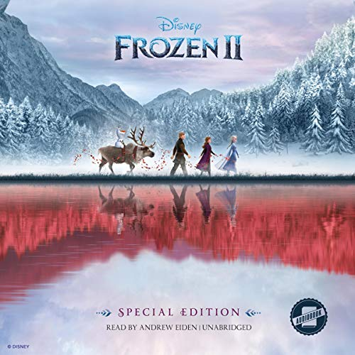 Frozen 2 audiobook cover art