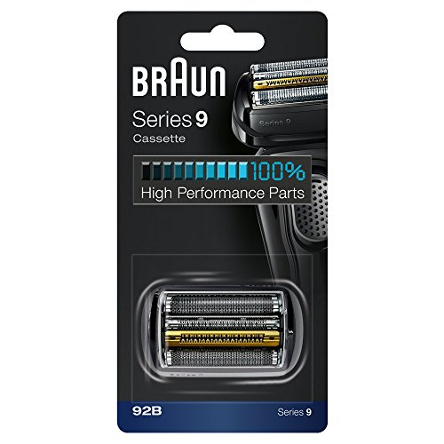 Braun Shaver Replacement Part 92B Black - Compatible with Series 9 Shavers