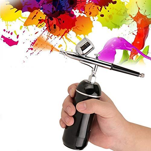 0,3 mm Micro Integrated Pump 7CC spuitpistool drukset, hoofdzakelijk voor modelbouw, tatoeage, taartdecoratie. schoonheid. Gepersonaliseerd schoenschilderij aan de buitenkant.