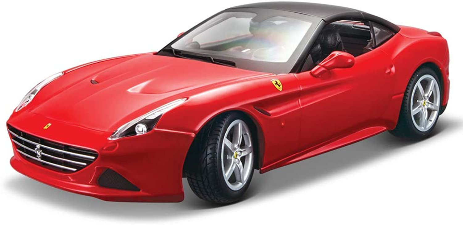 Bburago 1 18 Scale Ferrari Race and PlayCalifornia T (Closed top) Diecast Vehicle (colors May Vary)