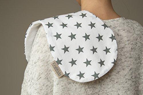 Force Kids rot petites étoiles Gris sur blanc