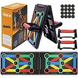 AYUQI Push Up Board - Tabla Plegable 12 en 1 para Entrenamiento, Entrenamiento Multifuncional, para...