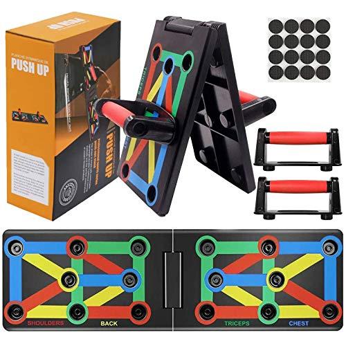 AYUQI Push Up Board - Tabla Plegable 12 en 1 para Entrenamiento,...