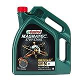 Castrol 055175 Huile pour Moteur Magnatec 0W-30 C2, 5L