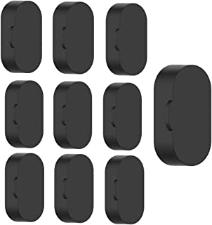 Shan-S [10 Pack Charger Port Protector Caps for Garmin Vivomove 3/4/3S/4S Watch Charging Protector Resistant Soft Silicone Anti Dust Proof Plugs for Garmin Venu/Vivoactive 3