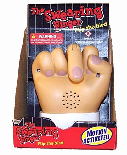 Novelties company The Swearing Middle Finger - Motion Activated