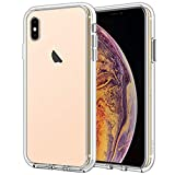 JETech Case Compatible with iPhone Xs Max 6.5-Inch, Shockproof Bumper Cover, Anti-Scratch Clear Back, Ultra HD