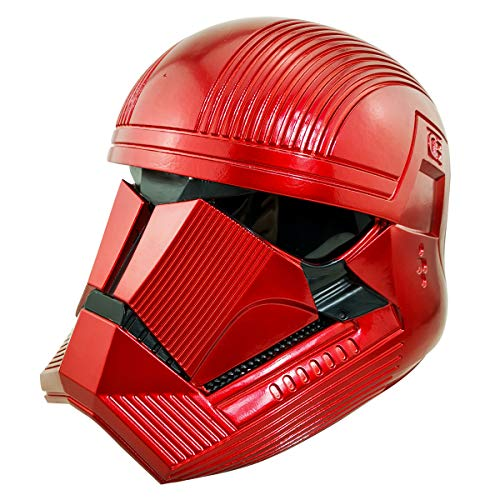 Sith Trooper Helmet, Full Head Trooper Sound Changer Mask Costume Cosplay Props, PVC Sith Trooper Cosplay Mask