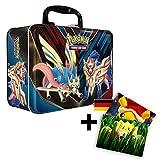 Lively Moments Pokemon Karten Sammelkoffer - Schwert & Schild - Zacian & Zamazenta / Metall-Koffer...