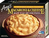 Amy's Frozen Entrées Macaroni & Cheese, Made with Organic Pasta, 9-Ounce
