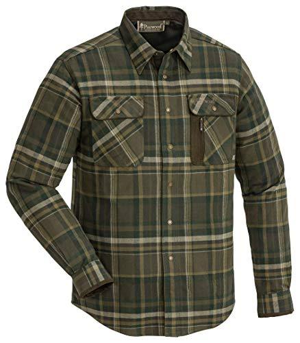 Pinewood 9435 - Camicia in flanella Cornwall, colore: Marrone scuro (211), 9435-211, Marrone scuro (211)., XL