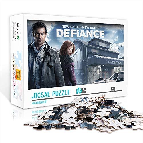 WJHXYD Defiance Movie Stills Jigsaw Puzzle para Adultos 500 Piezas Juegos Family Fun Floor Puzzles Juguetes educativos para niños 52x38cm