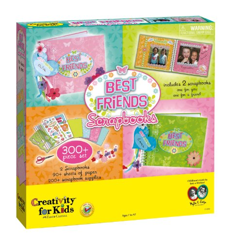 Creativity for Kids - Best Friends Scrapbooks - Educational Toys