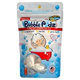 TruKid Bubble Podz Care - Watermelon Scented Wellness Bubble Bath for Kids - Pediatrician and Dermatologist Tested, 8 Count